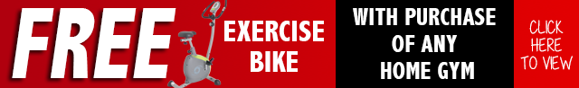 FREE BIKE WITH THE PURCHASE OF ANY GYM AT ORBIT FITNESS EQUIPMENT